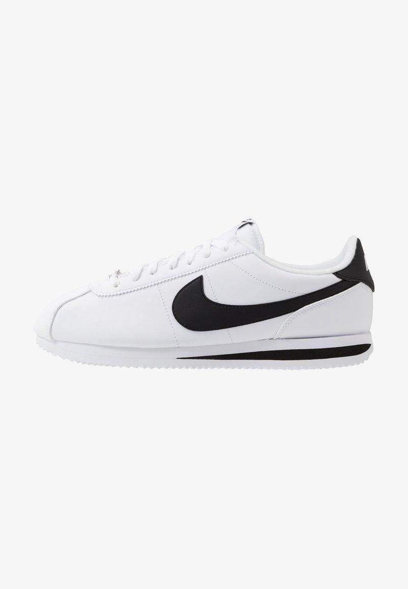 Nike Sportswear - CORTEZ BASIC - Trainers - white/black/metallic silver