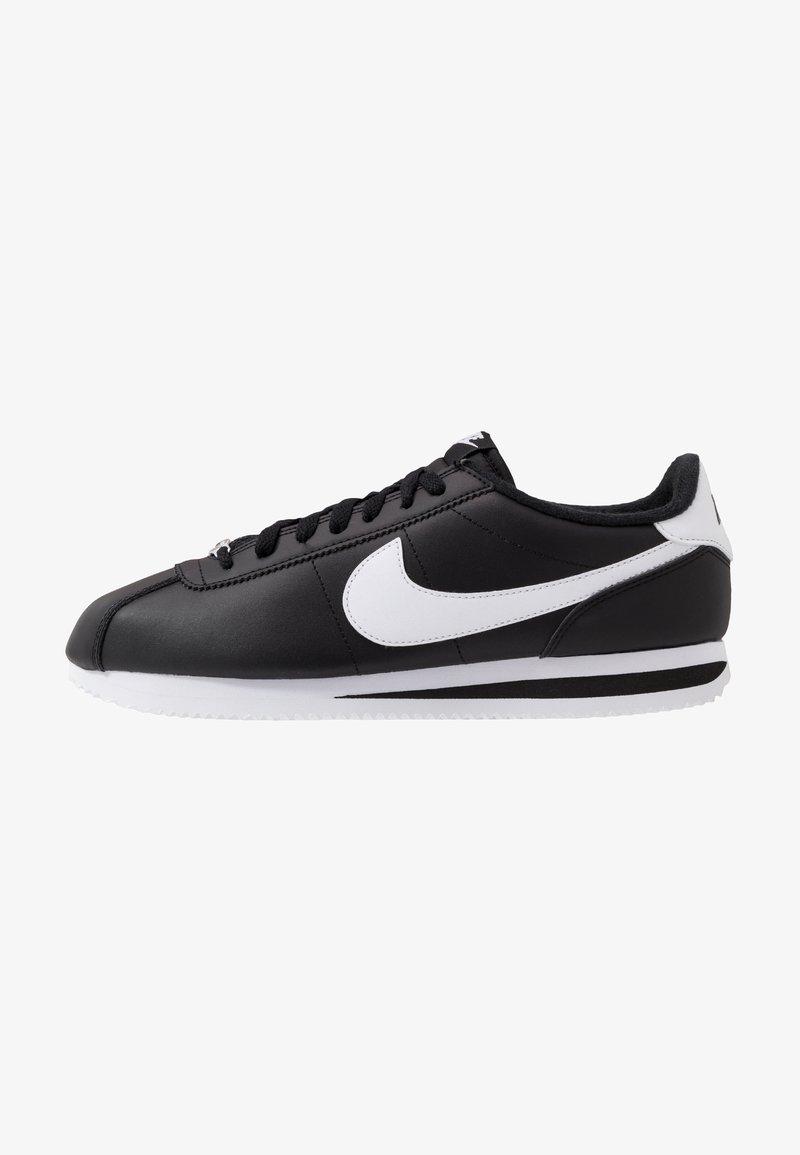 Nike Sportswear - CORTEZ BASIC - Baskets basses - black/white/metallic silver