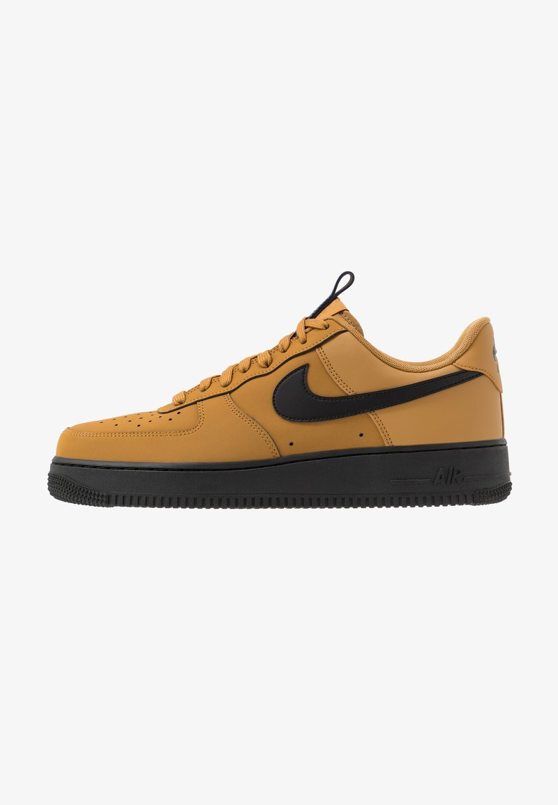 Nike Sportswear - AIR FORCE 1 - Sneakersy niskie - wheat/black/midnight navy