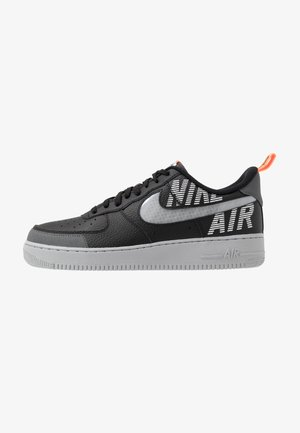 AIR FORCE 1 '07 LV8 - Sneakers laag - black/wolf grey/dark grey/total orange/white