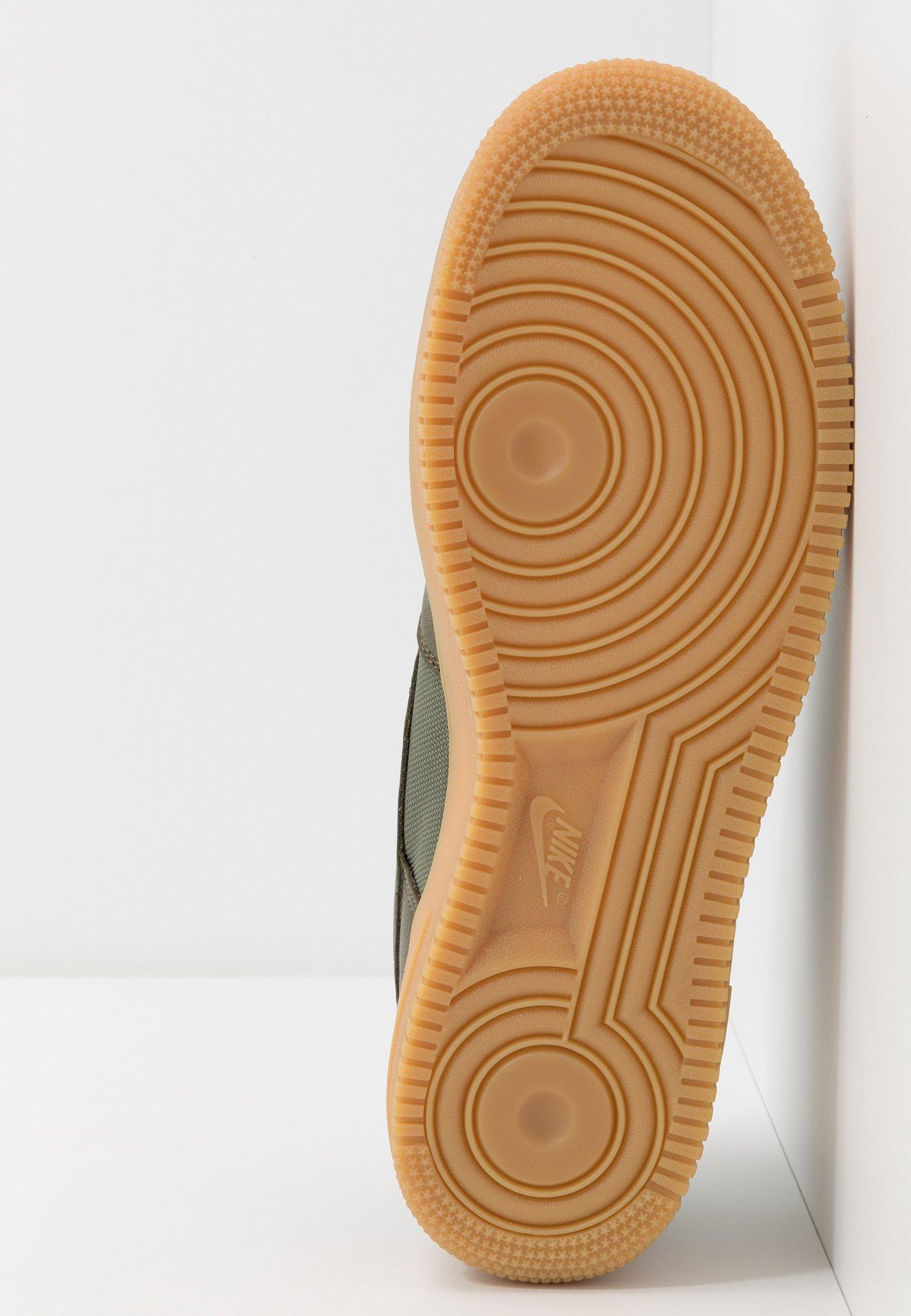 Nike Sportswear AIR FORCE 1 GTX - Baskets basses med olive/sequoia/gold/black/off noir
