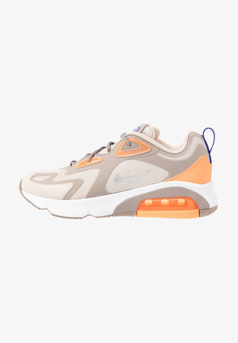 Nike Sportswear - AIR MAX 200 - Sneakers - sepia stone/reflect silver/desert sand/total orange/white/racer blue