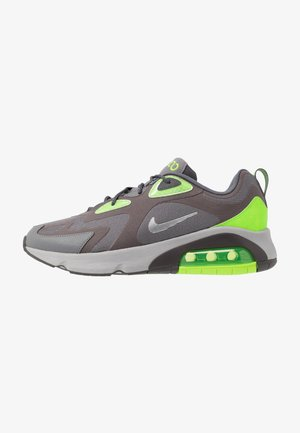 AIR MAX 200 - Trainers - thunder grey/metalic silver/gunsmoke/electric green/atmosphere grey