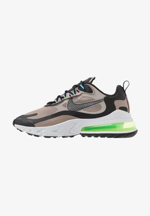 AIR MAX 270 REACT WTR - Tenisky - sepia stone/black/moon particle/vast grey/electric green/total orange