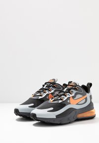 Nike Sportswear - AIR MAX 270 REACT WTR - Sneakers - wolf grey/total orange/black/dark grey - 3