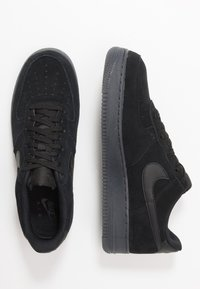 Nike Sportswear - AIR FORCE 1  - Sneakers - black/anthracite - 1