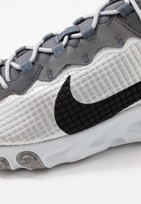 Nike Sportswear - REACT ELEMENT 55 - Sneakers - metallic silver/black/pure platinum/dark grey - 5
