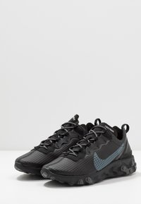 Nike Sportswear - REACT ELEMENT 55 - Trainers - black/dark grey/anthracite