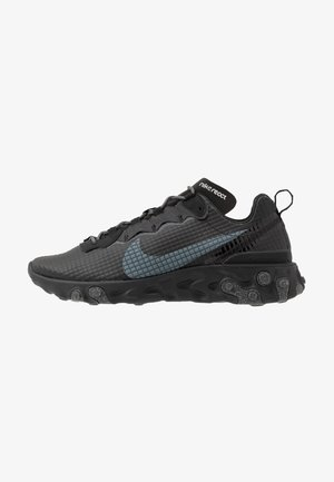 REACT ELEMENT 55 - Baskets basses - black/dark grey/anthracite
