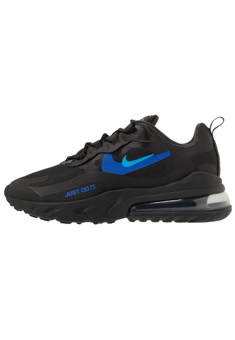 Nike Sportswear - AIR MAX 270 REACT - Sneakers laag - black/blue hero/hyper royal/cool grey/anthracite