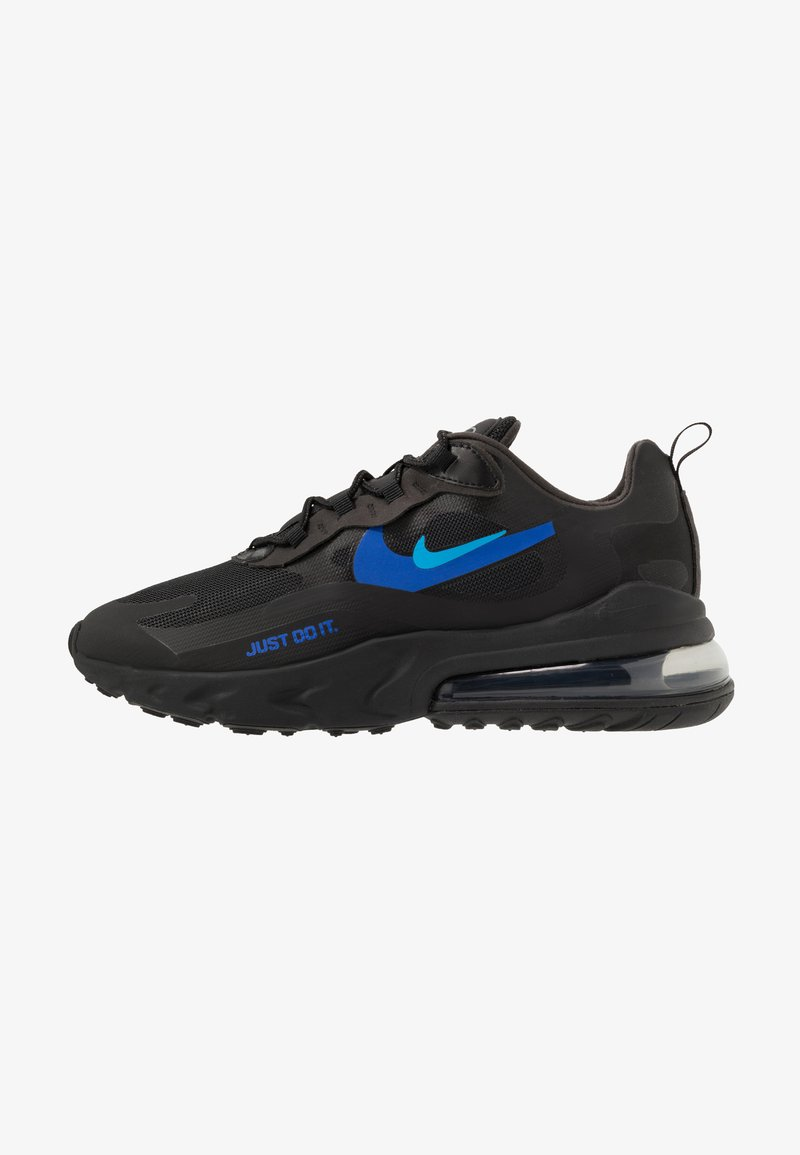 Nike Sportswear - AIR MAX 270 REACT - Sneakers - black/blue hero/hyper royal/cool grey/anthracite