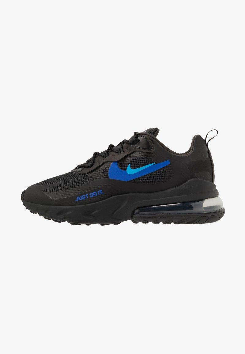 Nike Sportswear - AIR MAX 270 REACT - Zapatillas - black/blue hero/hyper royal/cool grey/anthracite