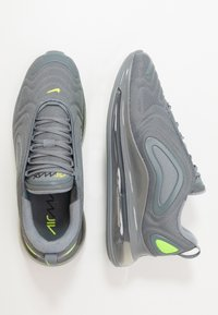 Nike Sportswear - AIR MAX 720 - Matalavartiset tennarit - cool grey/volt/electric green/black - 1
