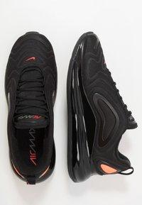 Nike Sportswear - AIR MAX 720 - Trainers - black/hyper crimson/university red/cool grey - 1