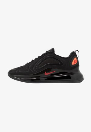 AIR MAX 720 - Sneakersy niskie - black/hyper crimson/university red/cool grey