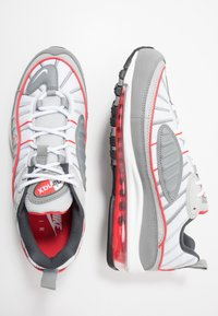 Nike Sportswear - AIR MAX 98 - Sneakers laag - particle grey/track red/iron grey/grey fog/white - 1