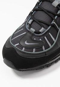 Nike Sportswear - AIR MAX 98 - Trainers - black/smoke grey/vast grey/white - 5