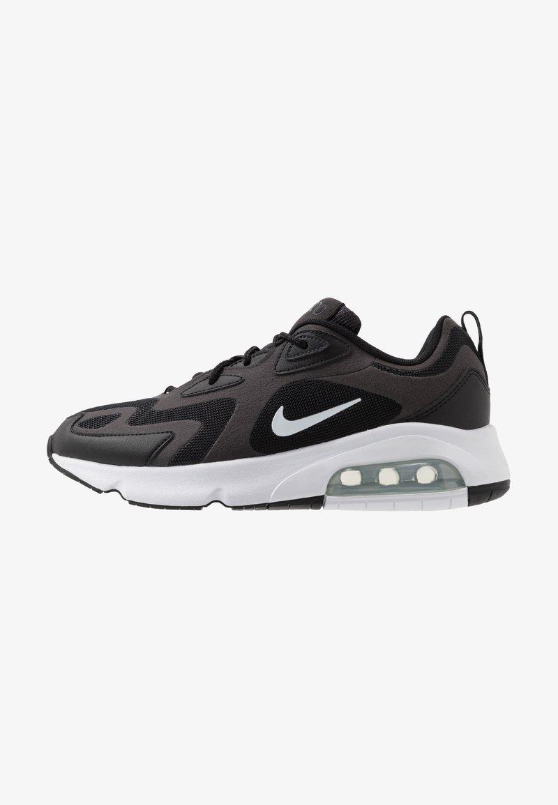 Nike Sportswear - AIR MAX 200 - Sneakers laag - black/white/off noir/metallic silver