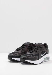 Nike Sportswear - AIR MAX 200 - Sneakers laag - black/white/off noir/metallic silver - 2