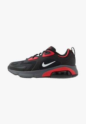 AIR MAX 200 - Sneakersy niskie - black/white/university red/dark grey