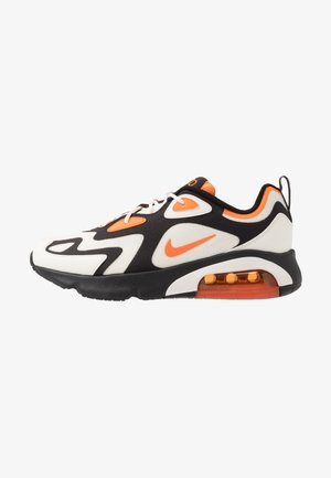 AIR MAX 200 - Sneakersy niskie - black/magma orange/sail