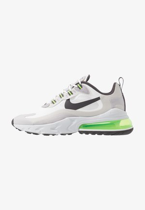 AIR MAX  REACT - Sneakersy niskie - summit white/electric green/vast grey/silver lilac/thunder grey