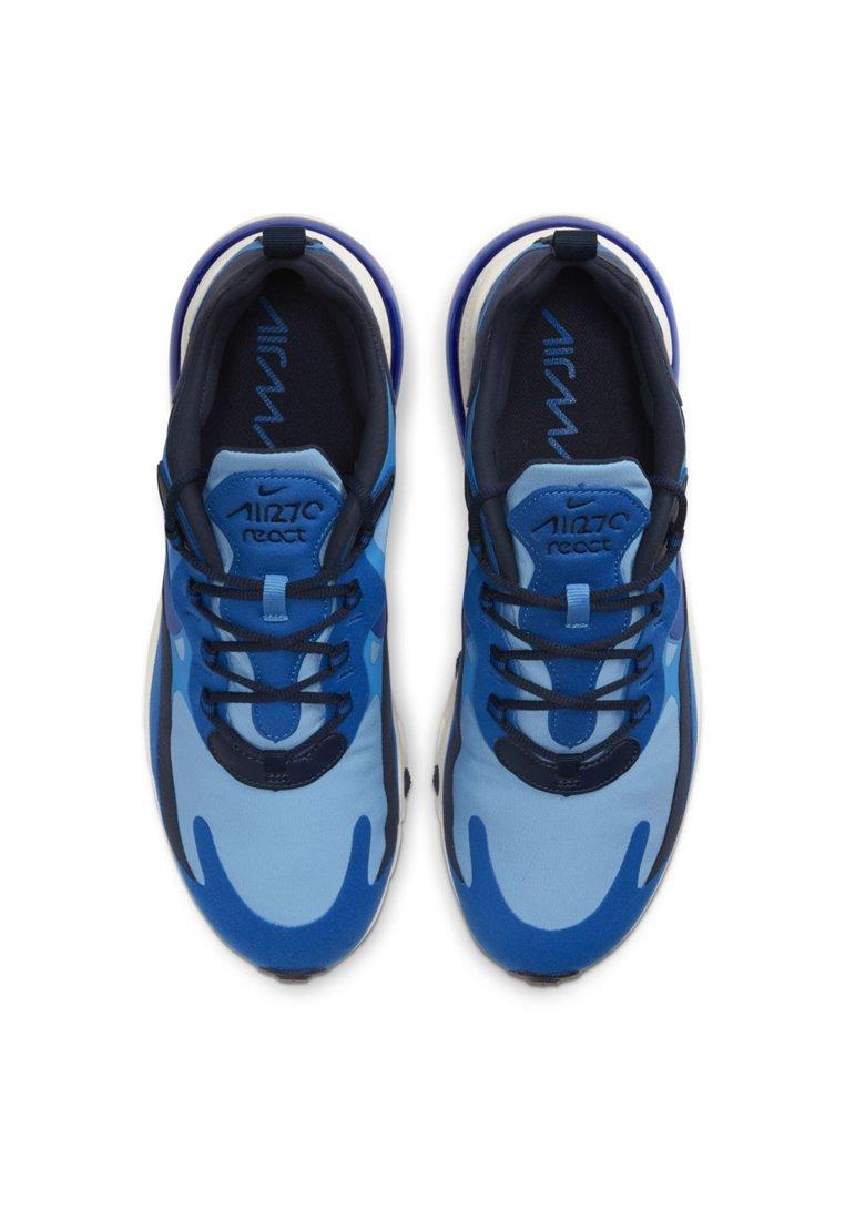 Nike Sportswear AIR MAX REACT - Sneakers basse - pacific blue