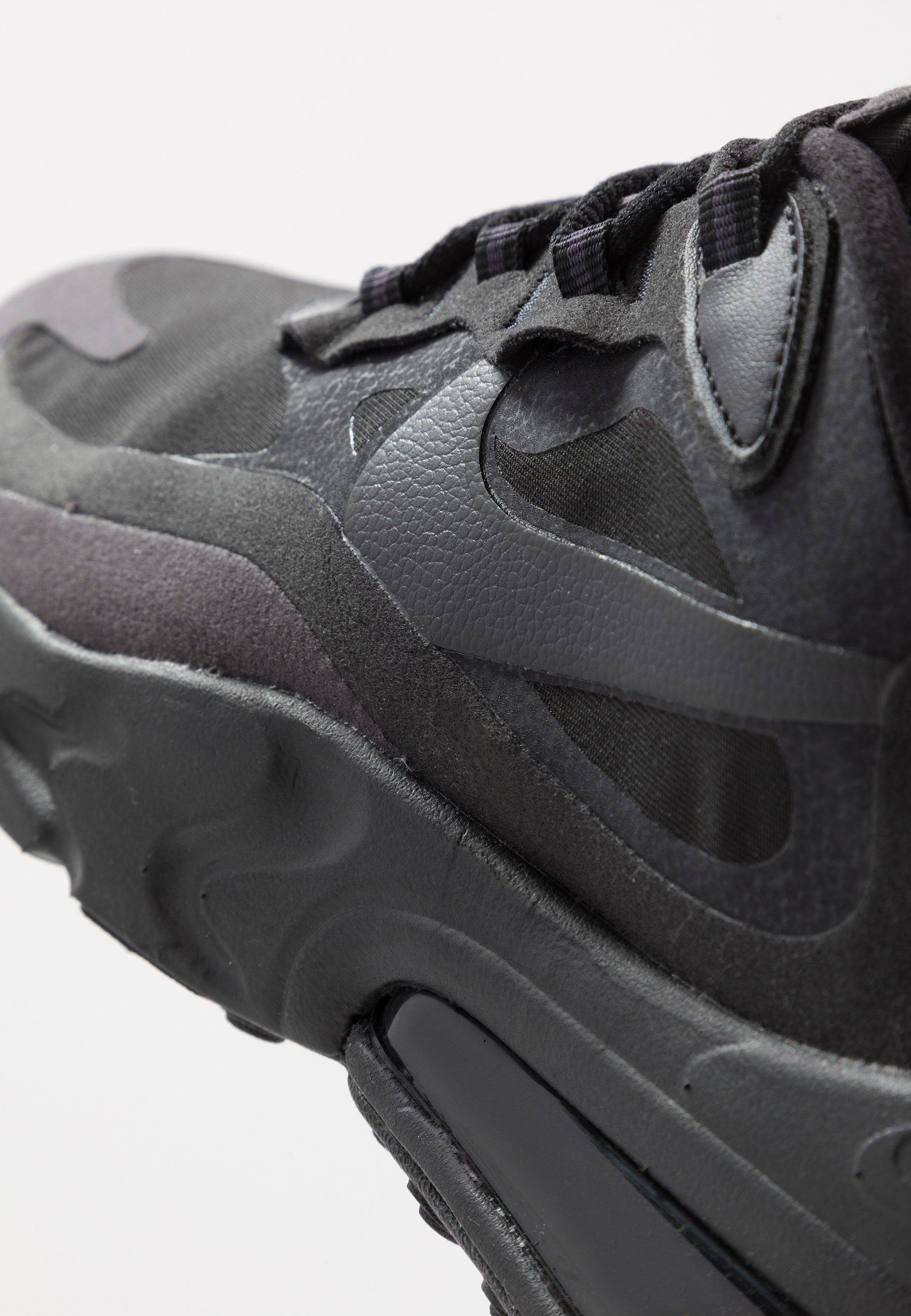 AIR MAX REACT Sneakers blackoil greywhite