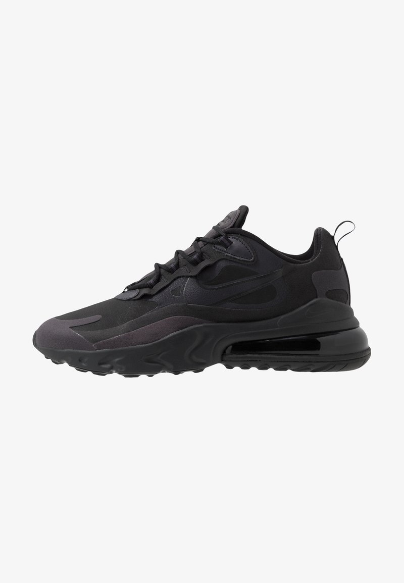 Nike Sportswear - AIR MAX  REACT - Sneakers laag - black/oil grey/white