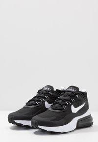 Nike Sportswear - AIR MAX  REACT - Trainers - black/white - 2