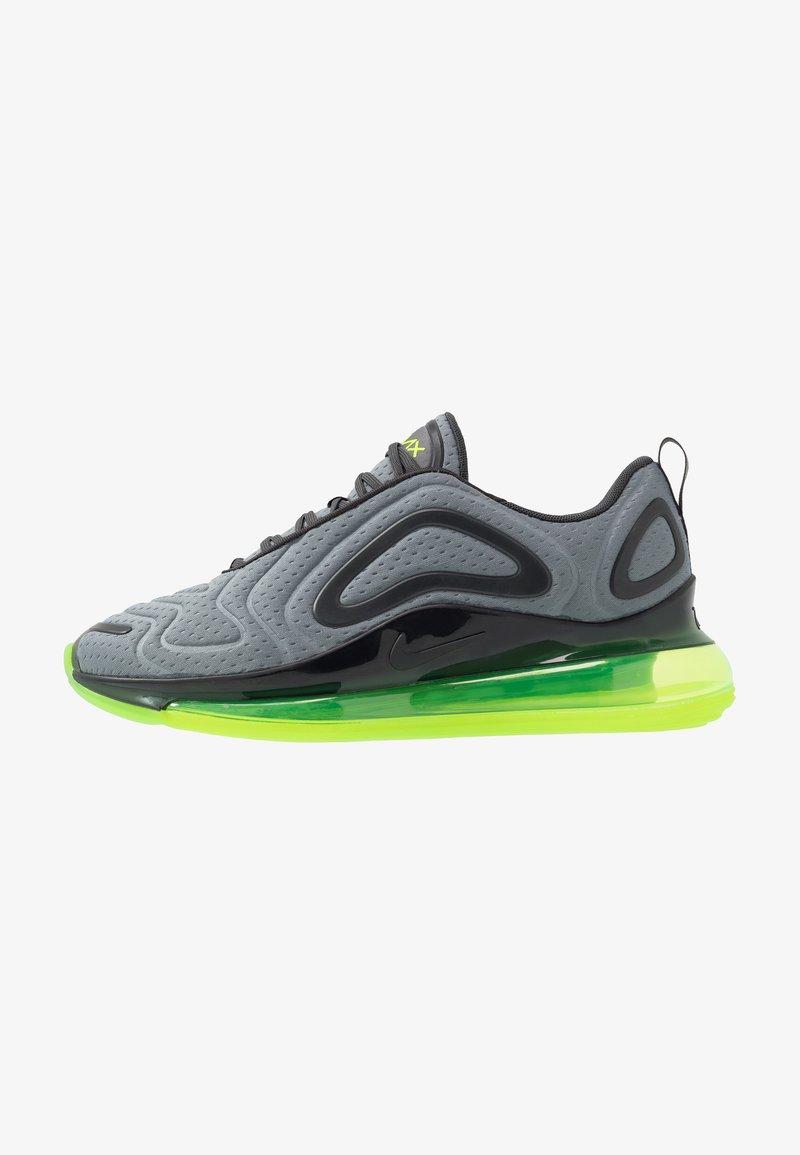 Nike Sportswear - AIR MAX 720 - Sneakersy niskie - smoke grey/electric green/anthracite
