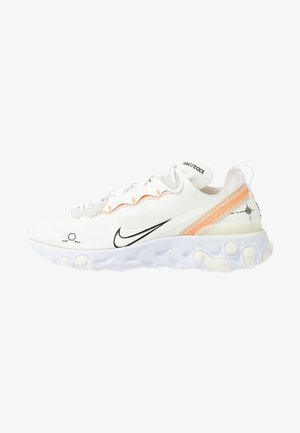 REACT 55 - Sneakersy niskie - white/ orange