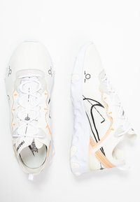 Nike Sportswear - REACT 55 - Sneakers basse - white/ orange - 1