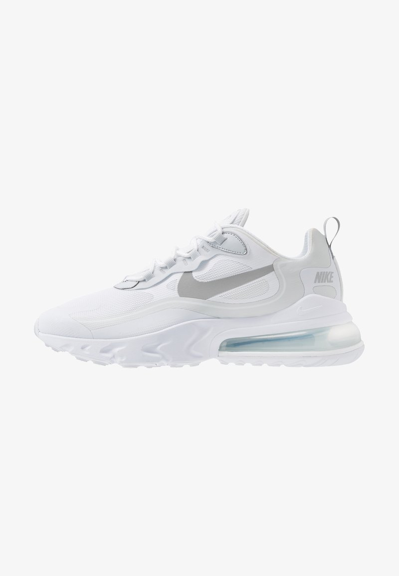 Nike Sportswear - AIR MAX 270 REACT RVL - Trainers - white/light smoke grey/pure platinum/cool grey