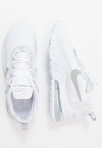 Nike Sportswear - AIR MAX 270 REACT RVL - Trainers - white/light smoke grey/pure platinum/cool grey - 1