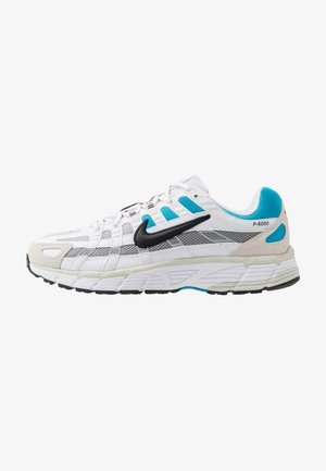 P-6000 - Sneakers - white/black/laser blue/light smoke grey/vast grey/photon dust