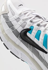 Nike Sportswear - P-6000 - Sneakers - white/black/laser blue/light smoke grey/vast grey/photon dust - 8