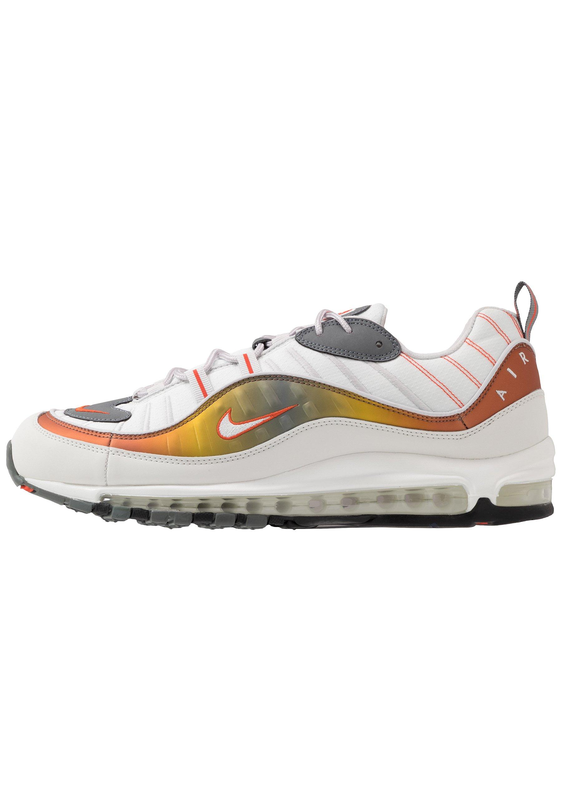 AIR MAX 98 SE - Sneakers laag - vast grey/summit white/team orange/smoke  grey/black/metallic red bronze