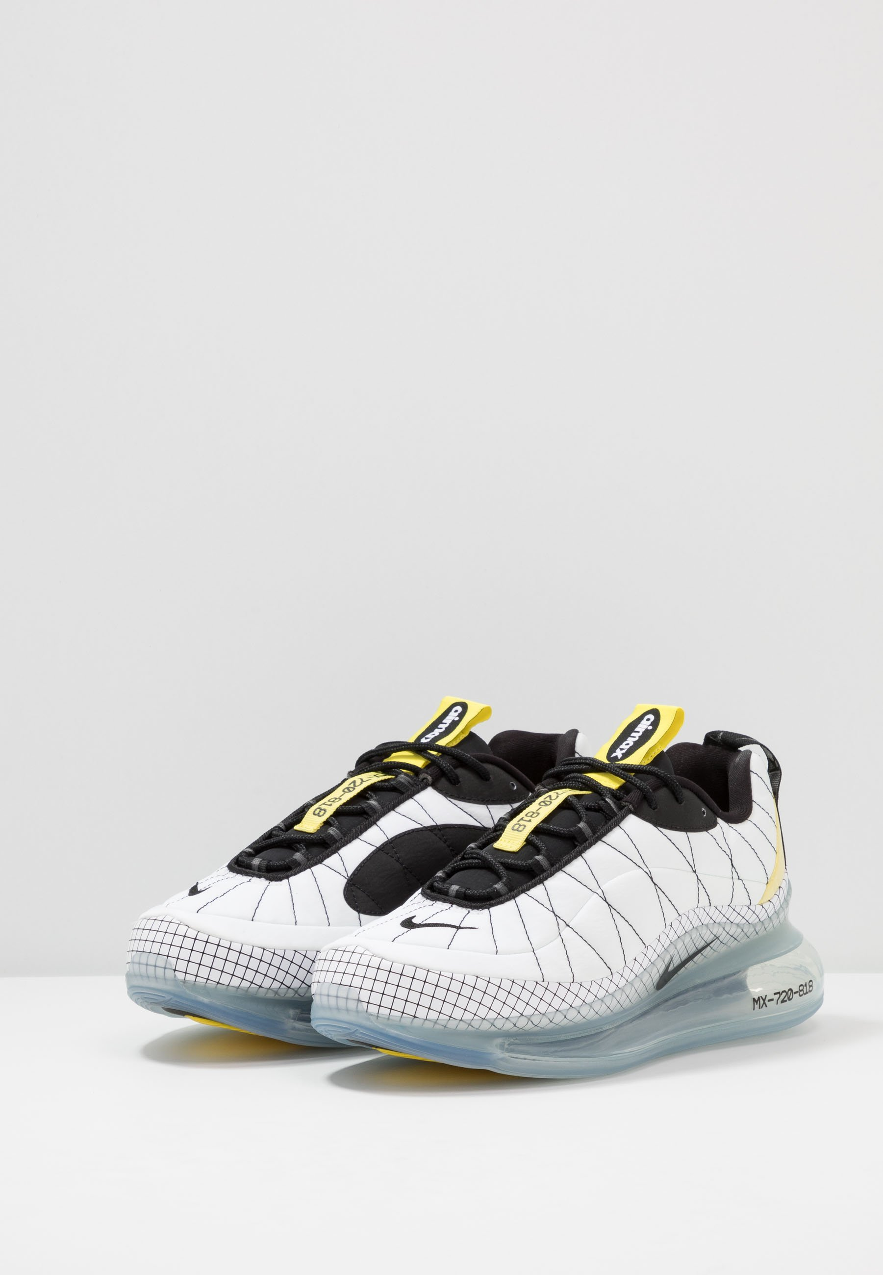 Nike Sportswear MX-720-818 - Sneakers - white/black/opti yellow