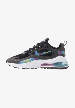AIR MAX 270 REACT 20 - Sneakersy niskie - dark smoke grey/multicolor/black/white/metallic silver