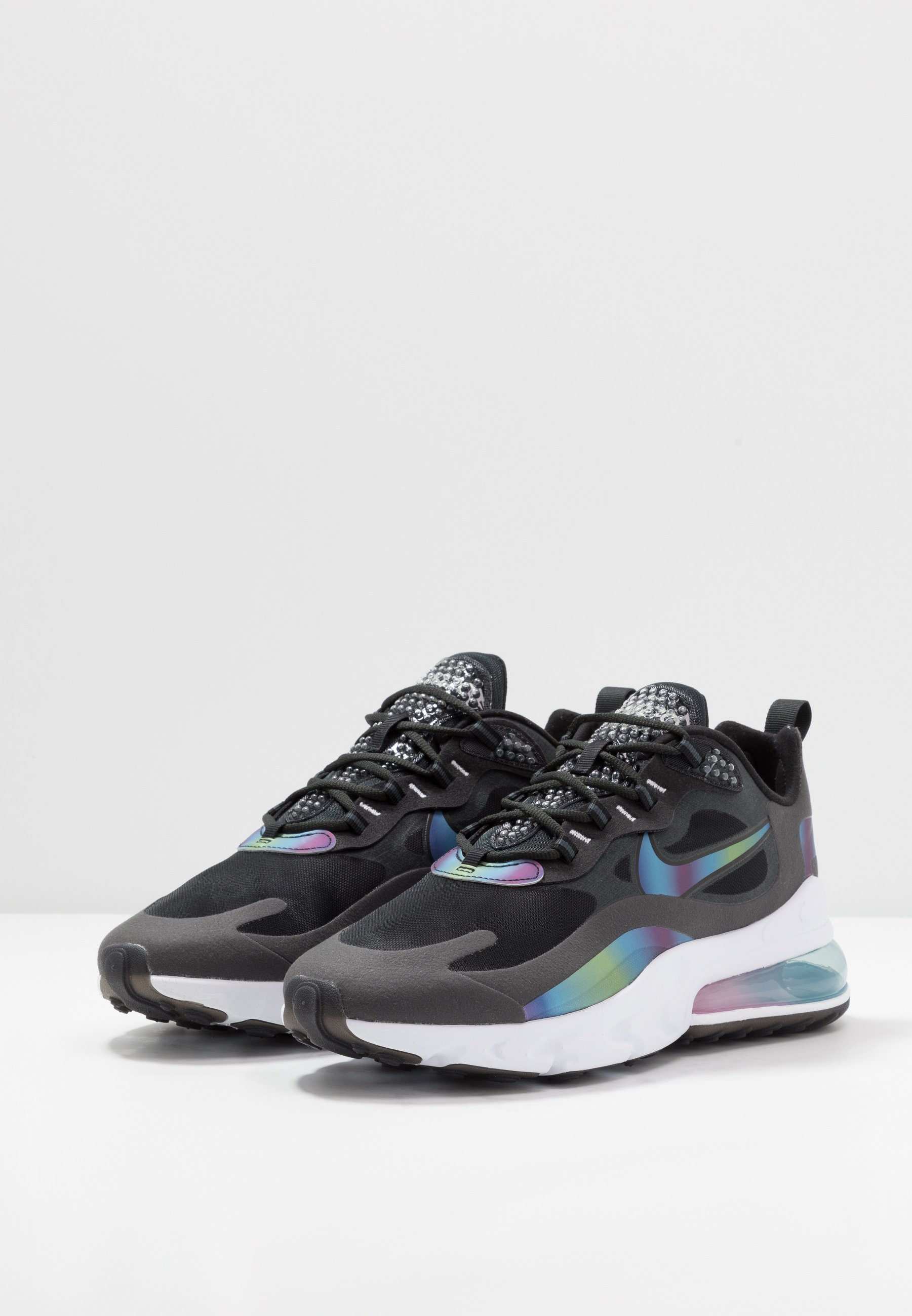 AIR MAX 270 REACT 20 Sneakers laag dark smoke greymulticolorblackwhitemetallic silver