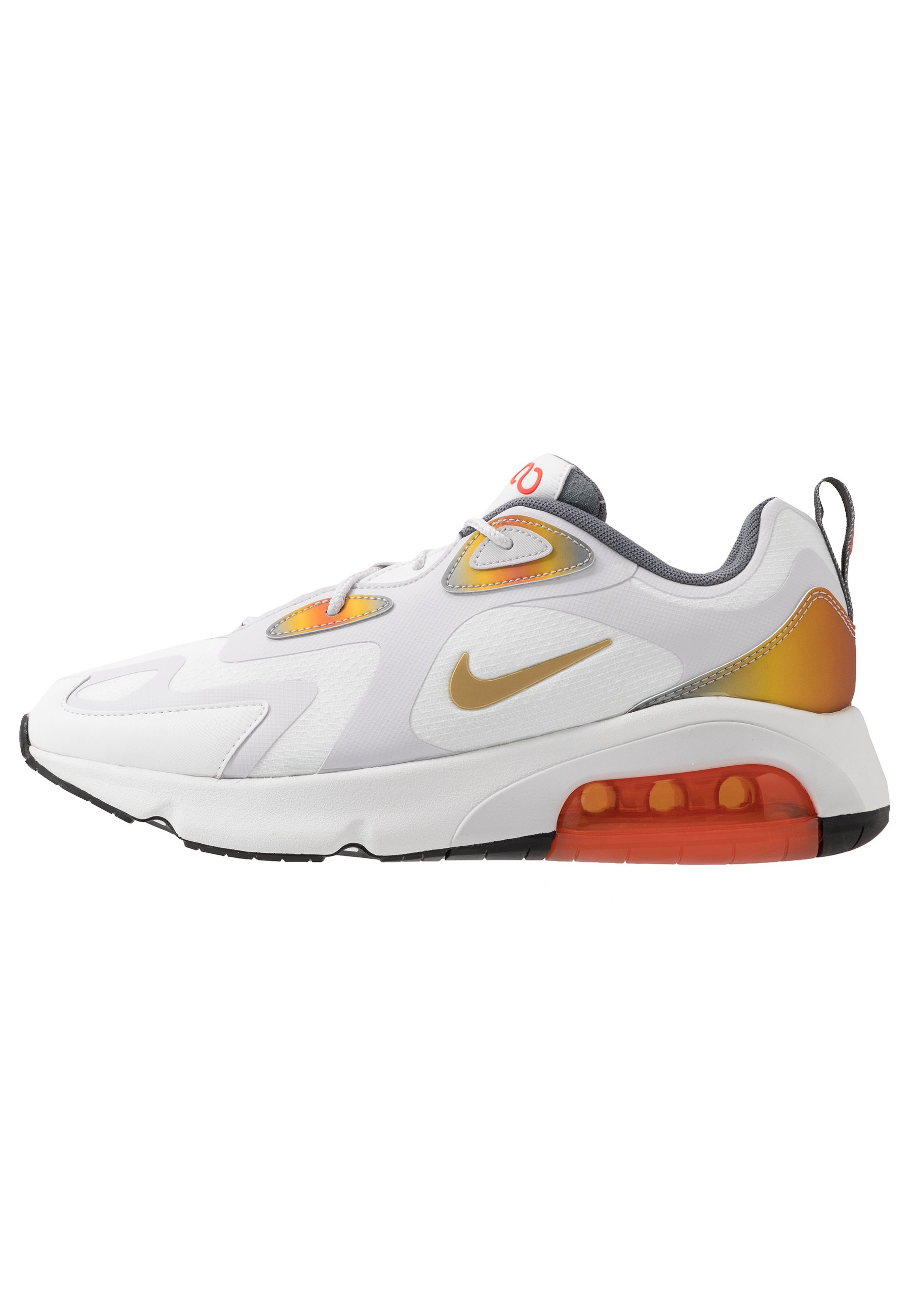 AIR MAX 200 SE Sneakers summit whitevast greymagma orangesmoke greyteam orangeblack