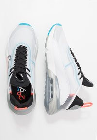Nike Sportswear - AIR MAX 2090 - Trainers - white/black/pure platinum/bright crimson/wolf grey/blue hero - 1