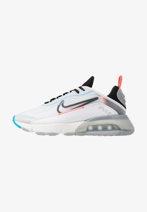 AIR MAX 2090 - Baskets basses - white/black/pure platinum/bright crimson/wolf grey/blue hero