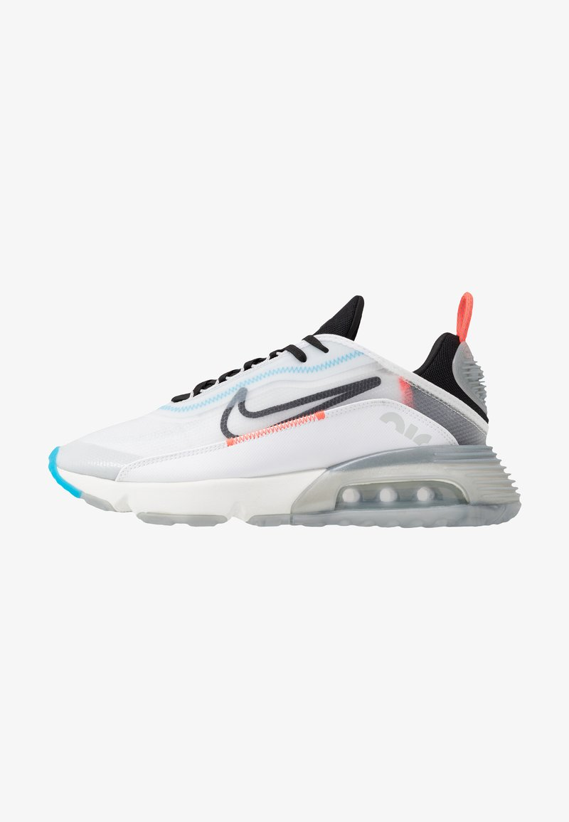 Nike Sportswear - AIR MAX 2090 - Trainers - white/black/pure platinum/bright crimson/wolf grey/blue hero
