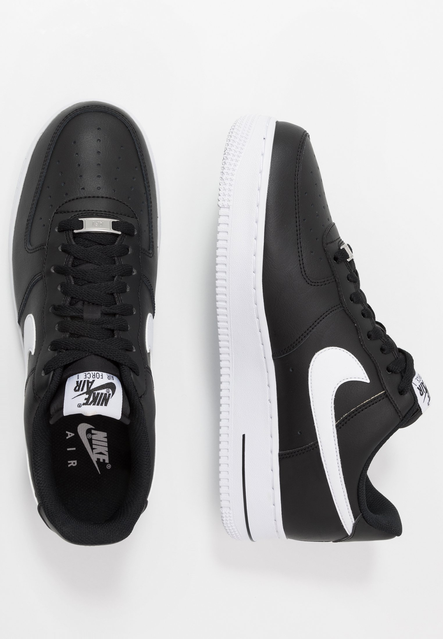 AIR FORCE 1 '07 AN20 Sneakers laag blackwhite