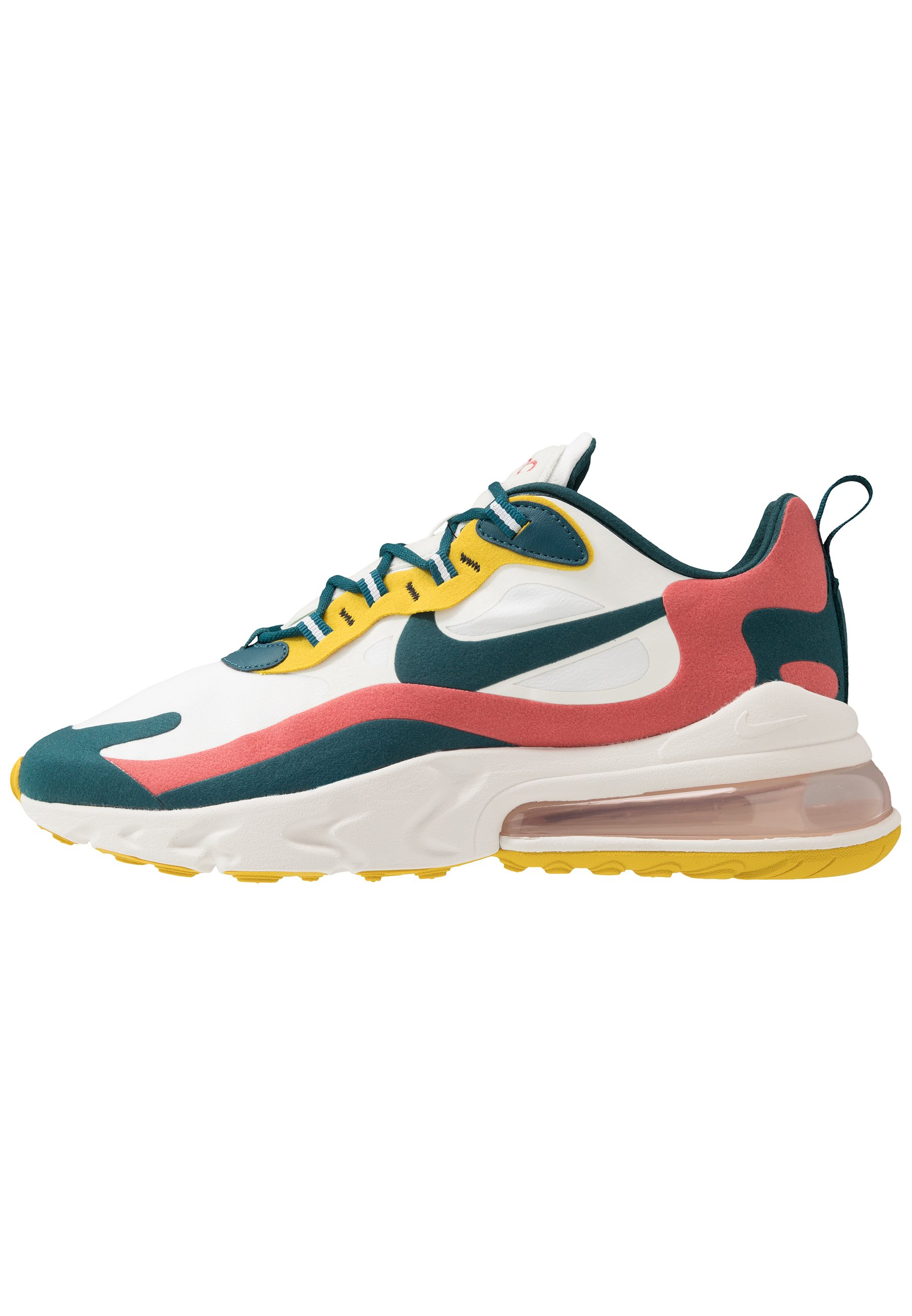 AIR MAX 270 REACT Baskets basses summit whitemidnight turqoisepueblo redsaffron quartzwhiteblack