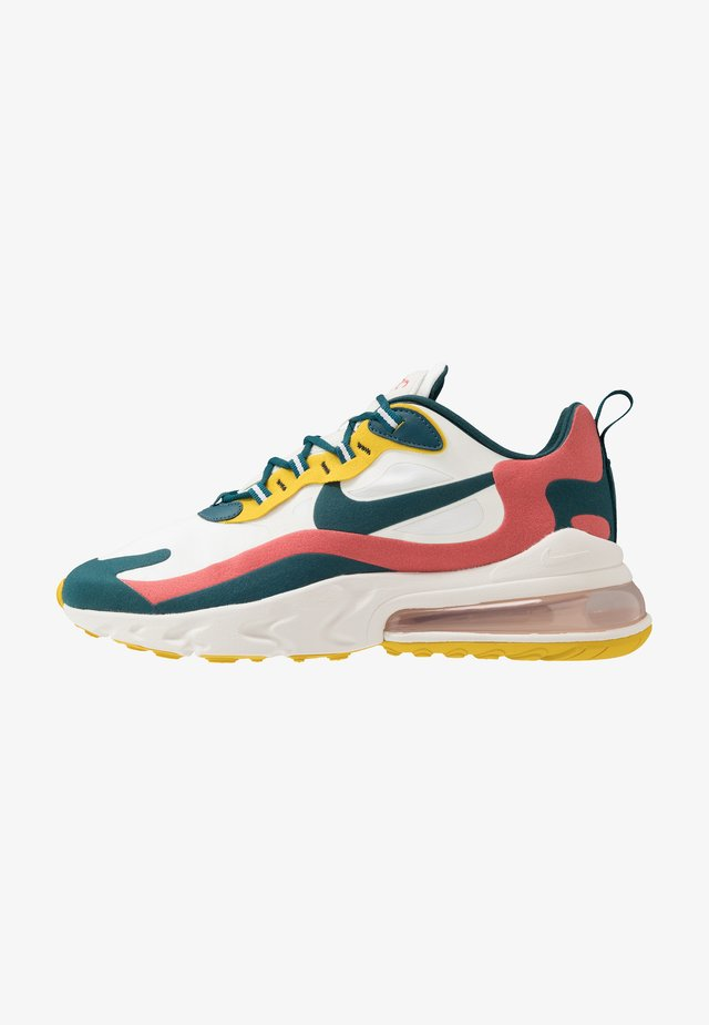 AIR MAX 270 REACT - Sneakers laag - summit white/midnight turqoise/pueblo red/saffron quartz/white/black