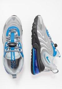 Nike Sportswear - AIR MAX 270 REACT ENG - Trainers - light smoke grey/battle blue/smoke grey/black/hyper blue/white - 1