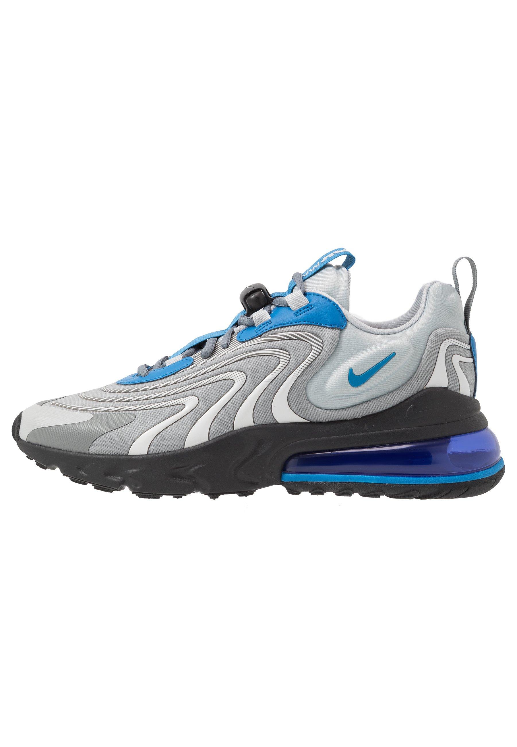 AIR MAX 270 REACT ENG Sneakers light smoke greybattle bluesmoke greyblackhyper bluewhite
